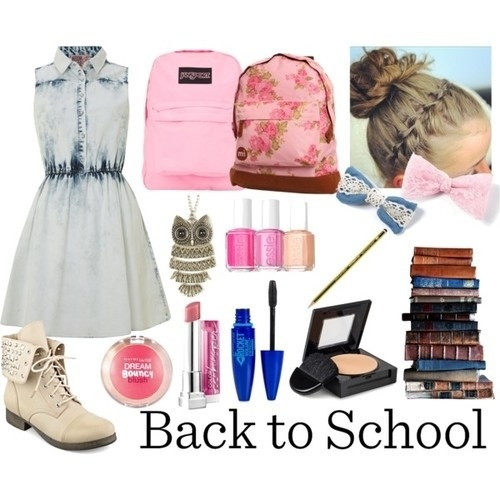Back To School Outfits #1 Girly Outfits